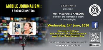 "-Geek Days-E-conference""Mobile journalism: a production tool"""